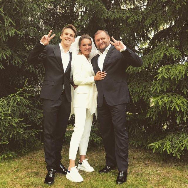 Михаил Добкин с семьей  - фото 56701