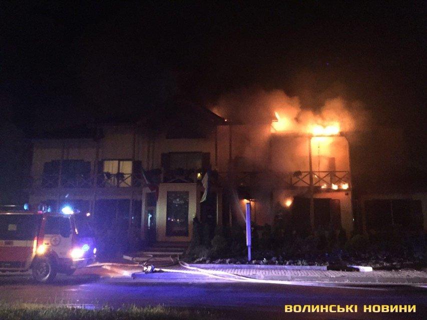 Пожар в Луцке - фото 60049
