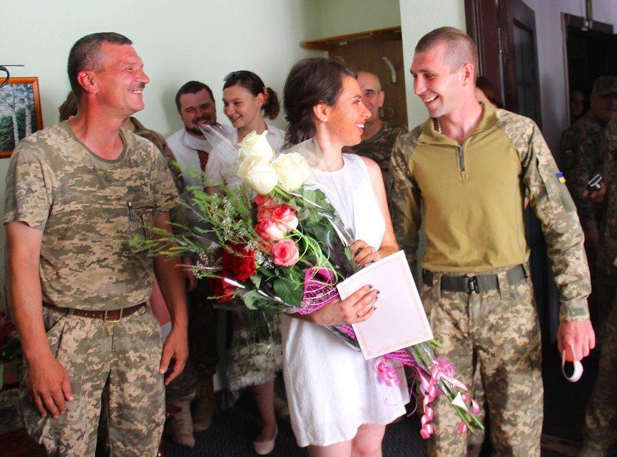 Свадьба военных молодоженов - фото 59953