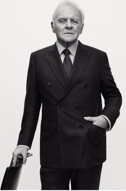 Энтони Хопкинс представляет коллекцию модного бренда Brioni - фото 61828