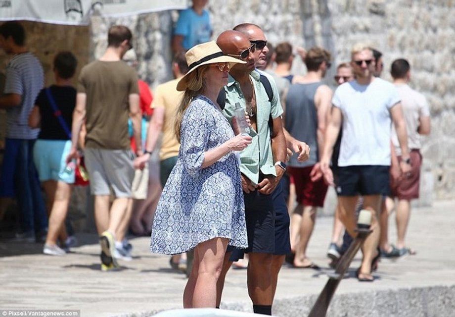 Вдова Стива Джобса Лорен отдыхает в Хорватии с новым мужем - фото 61093