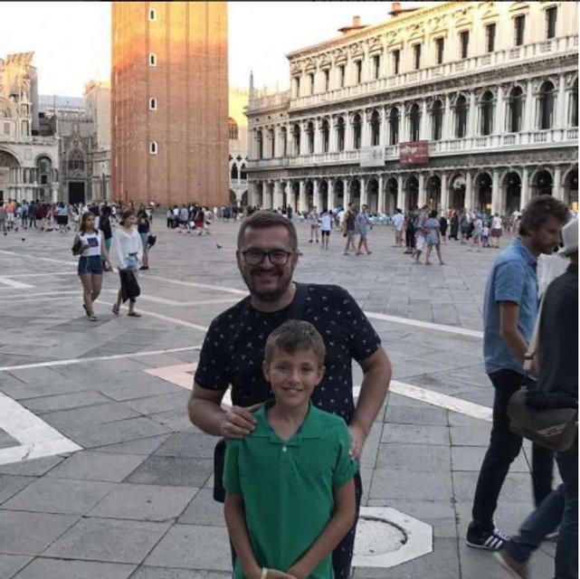 Александр Пономарев похвастал новыми фото с сыном Сашей - фото 60749