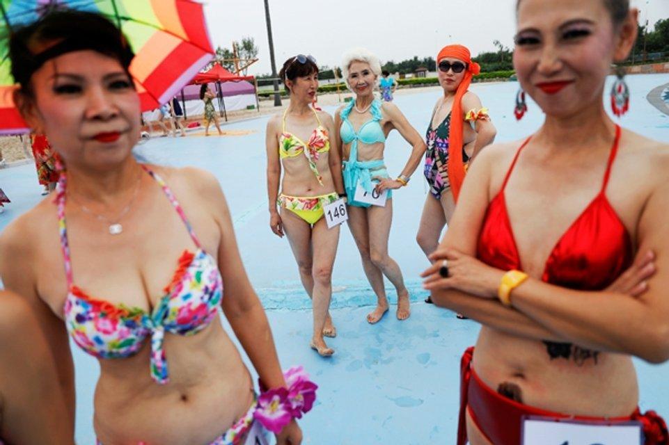 Участники конкурса красоты в Китае - фото 59891