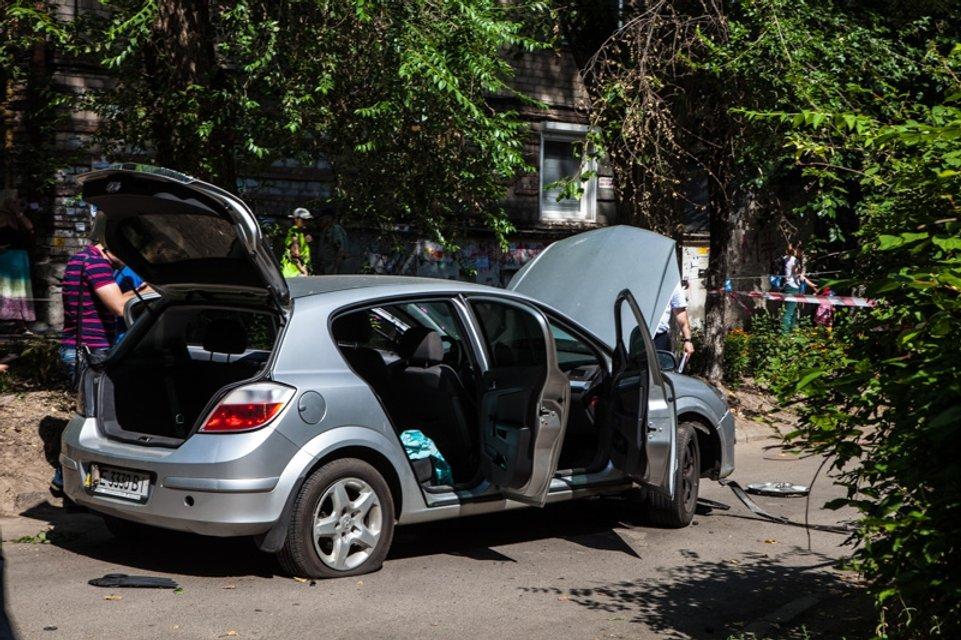 Взрыв в Днепре: В машине нашли след самодельной бомбы - фото 61249