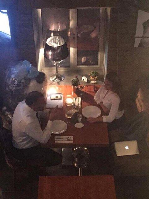 """Нардепа """"Оппоблока"""" Добкина заметили в ресторане с журналисткой """"Страны"""" Крюковой - фото 55765"""