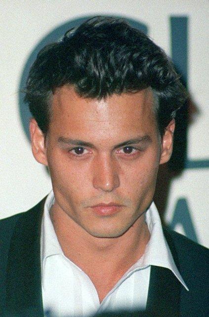 Джонни Депп в 90-ые: фото - фото 61645