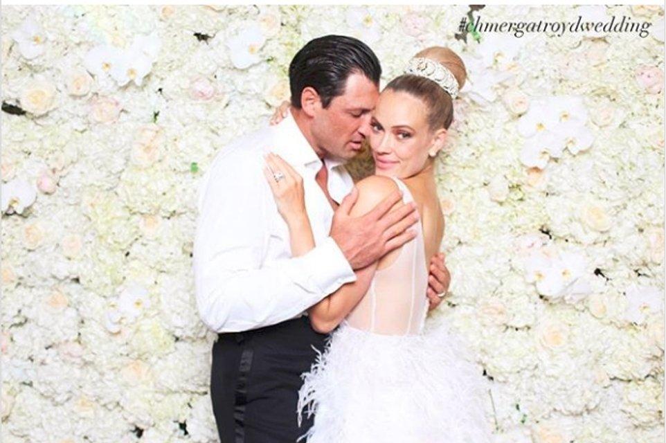 Максим Чмерковский женился на Пете Джейн Мургатройд - фото 56643