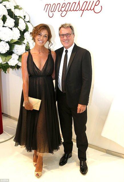 Французский актер Франсуа Клюзе с женой Нарцисс - фото 61910