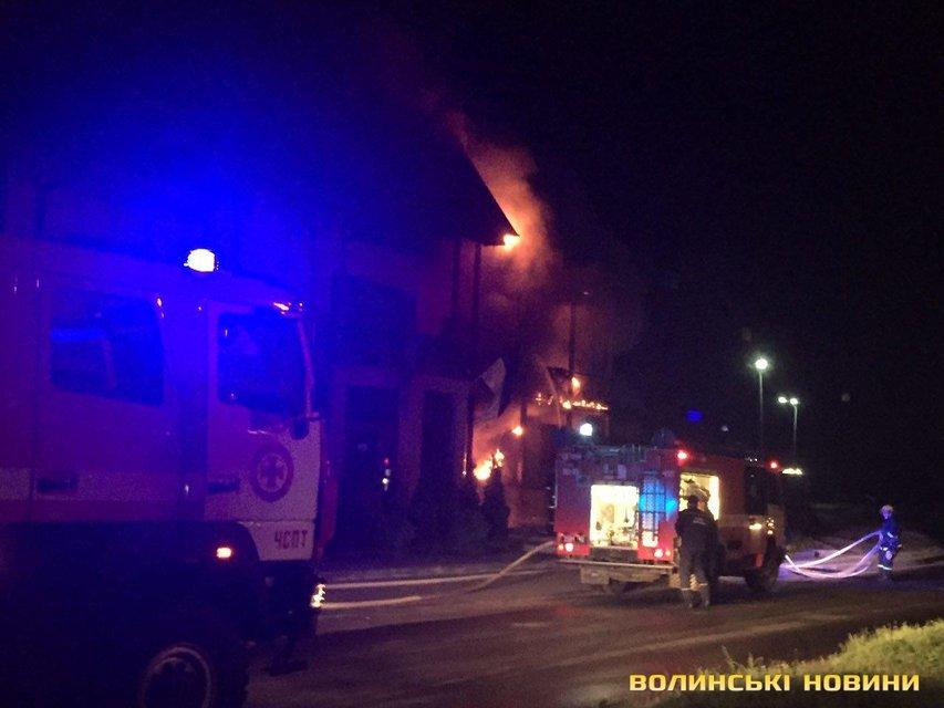 Пожар в Луцке - фото 60051