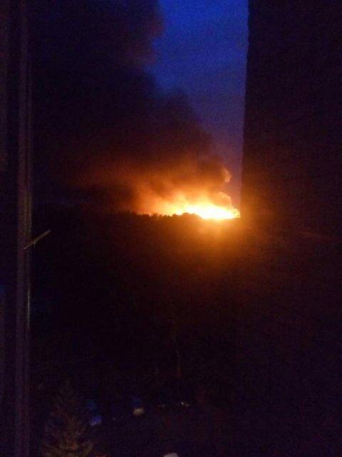Пожар в Харькове - фото 68976