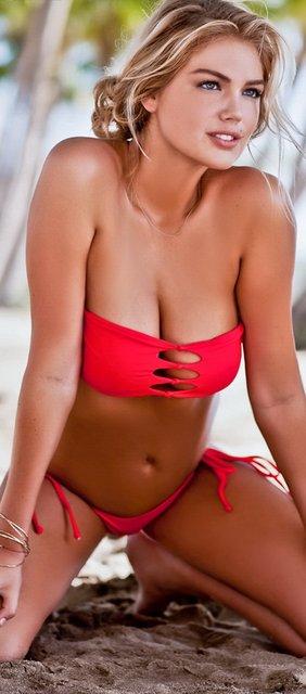 Кейт Аптон засветила грудь в сексуальном бикини - фото 65588
