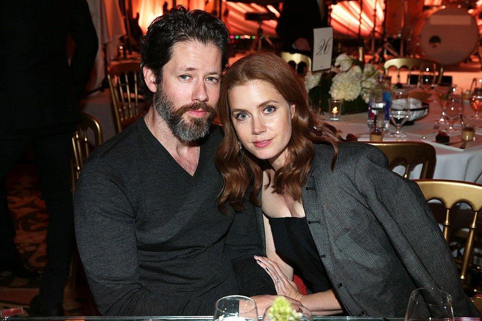 Эми Адамс с мужем - фото 66995
