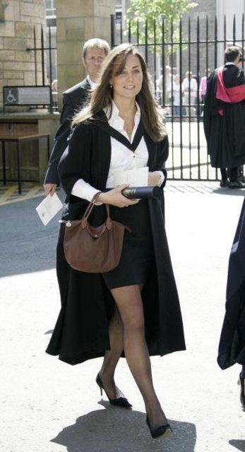 Как выглядела Кейт Миддлтон до замужества - фото 62486