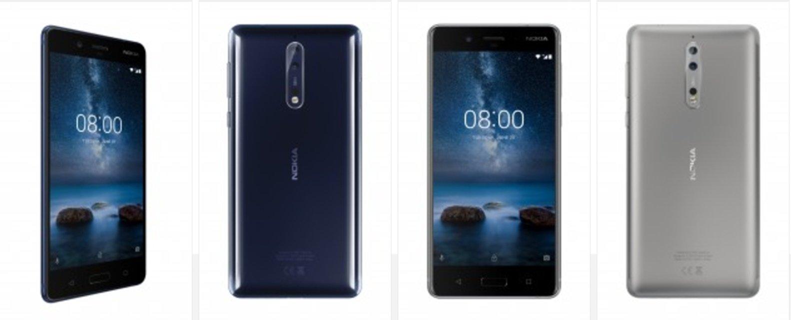 Nokia 8 официально выходит в продажу с 6 сентября по €600 - фото 67227