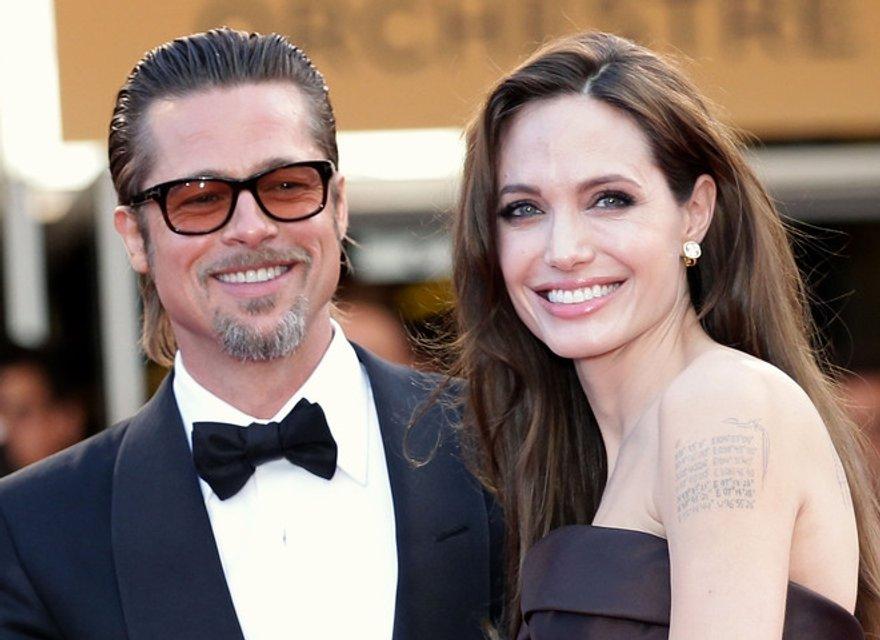 Брэд Питт и Анджелина Джоли не разводятся ради детей - фото 65275