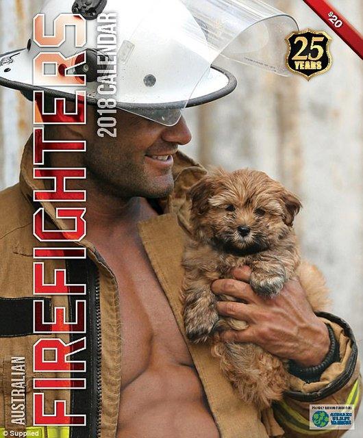 """Сеть """"взорвал"""" календарь с обнаженными пожарными Австралии - фото 63529"""