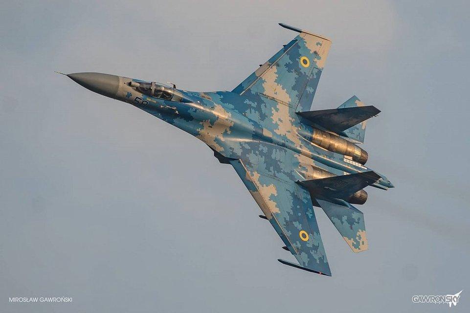 Украинские летчики покорили мир эффектным выступлением на авиашоу - фото 69752