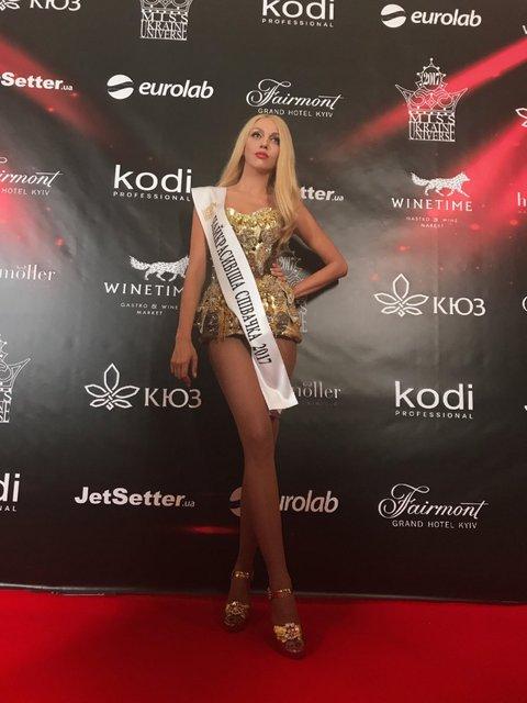 Оля Полякова на Мисс Украина Вселенная-2017 - фото 65763