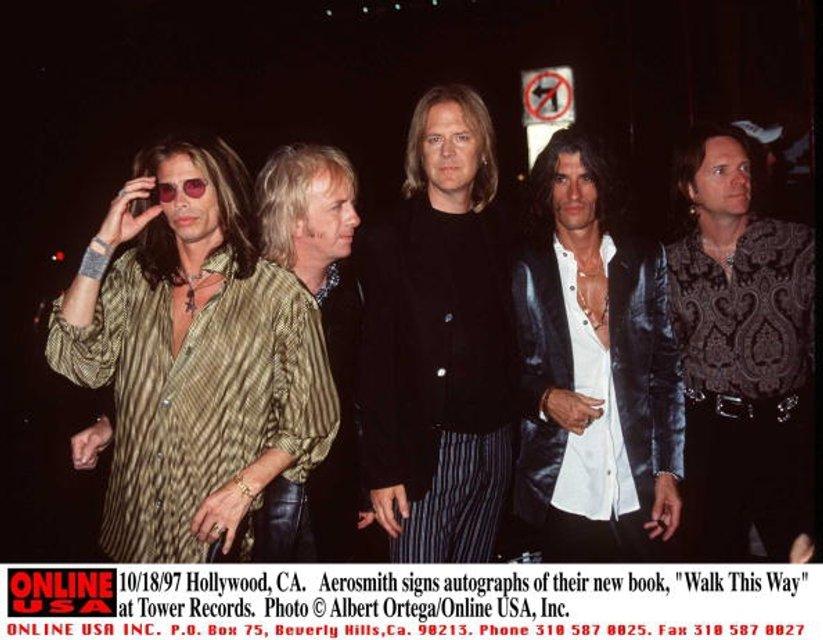 Группа Aerosmith - фото 62377
