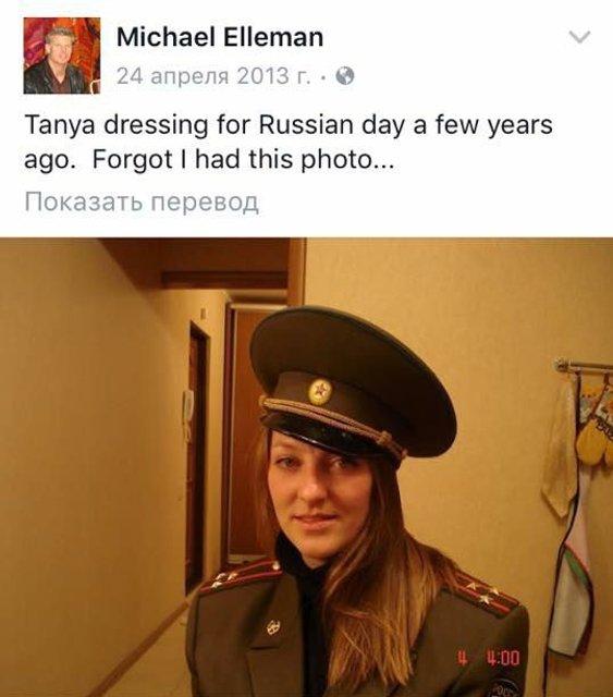"""Эксперт New York Times в """"ракетном скандале"""" оказался мужем россиянки-фанатки Путина - фото 66542"""