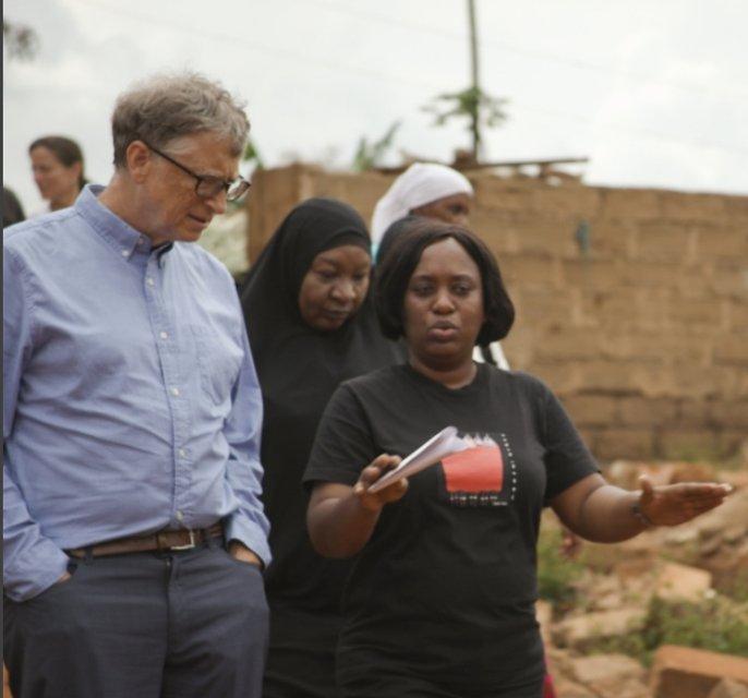 Билл Гейтс создал страницу в Instagram для борьбы с голодом в Африке - фото 66802
