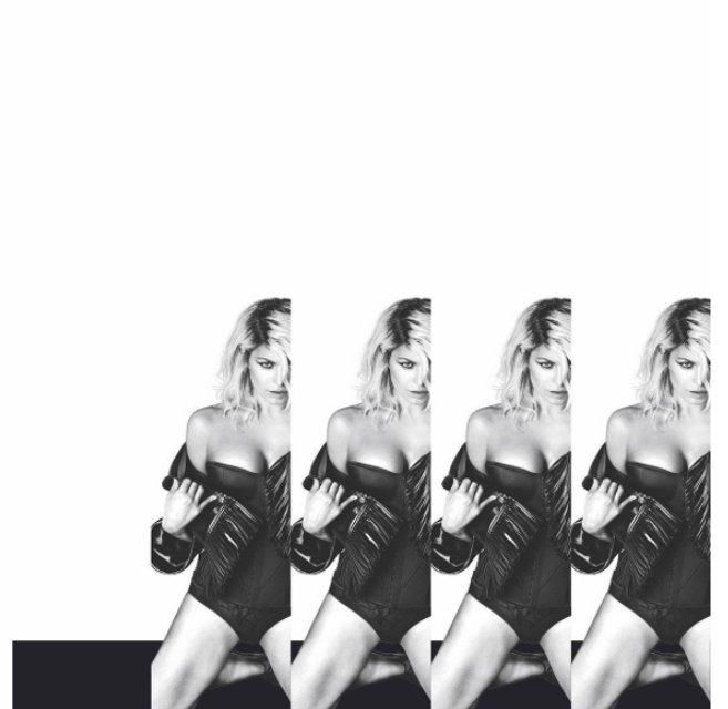 Ферги обнажилась для рекламы нового альбома - фото 66872