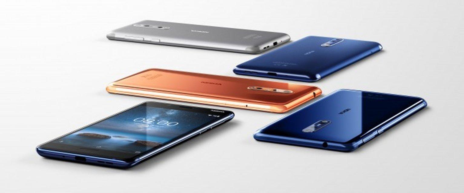 Nokia 8 официально выходит в продажу с 6 сентября по €600 - фото 67228