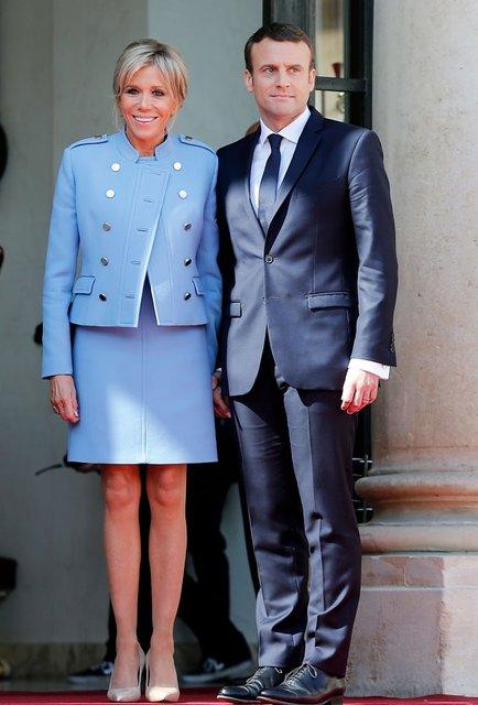 Брижит Макрон заявила, что ей не нужна зарплата в качестве первой леди Франции - фото 67628