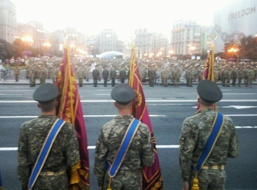В Киеве прошла репетиция парада ко Дню Независимости 2017 - фото 67159