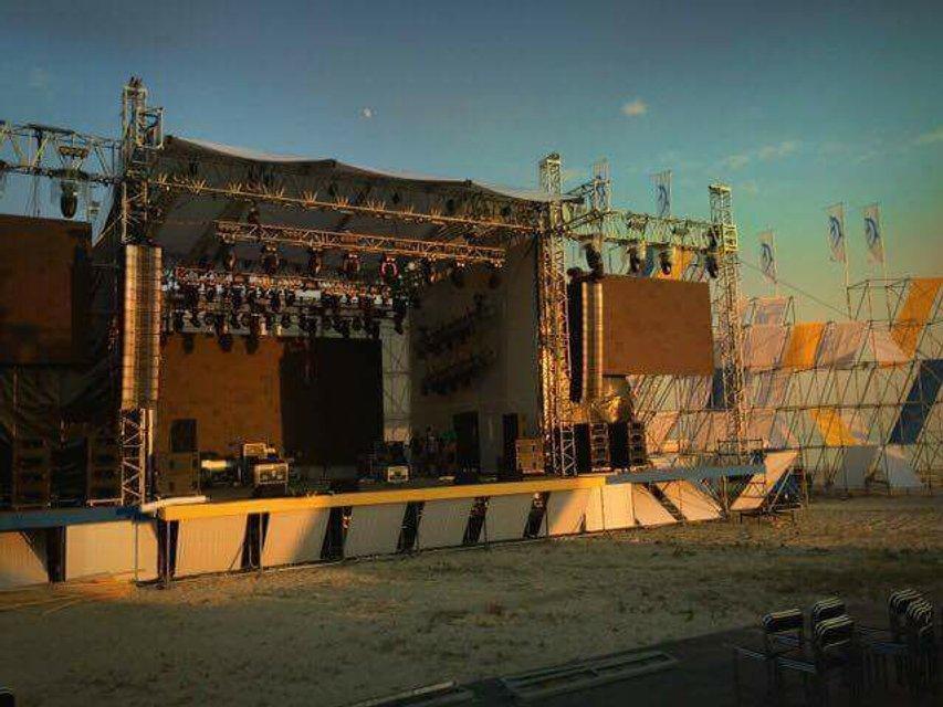 Черноморские Игры 2017 в Скадовске: первое фото сцены - фото 63873