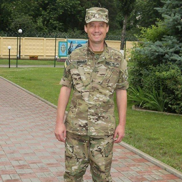 Игорь Гриб - отец похищенного украинца - фото 70590