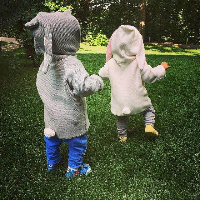 Елена Кравец показала редкое фото своих двойняшек - фото 64783