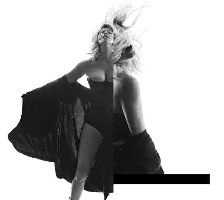 Ферги обнажилась для рекламы нового альбома - фото 66873