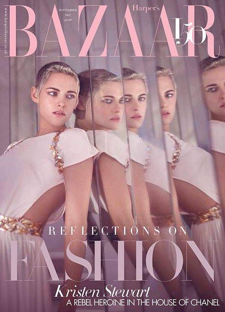 Кристен Стюарт для Harper's Bazaar - фото 63138
