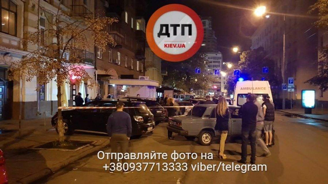 В центре Киева неизвестные расстреляли мужчину - фото 69293
