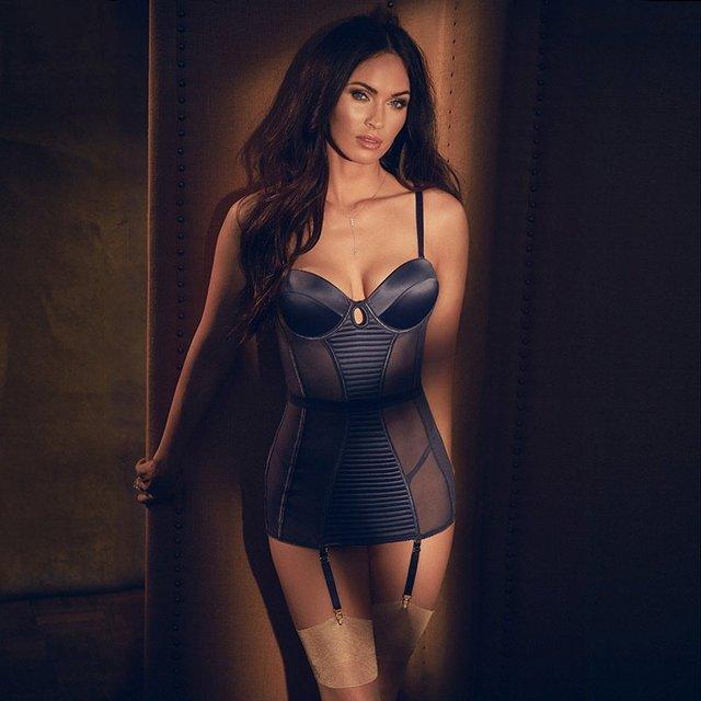 Меган Фокс снялась в откровенной рекламе нижнего белья собственного дизайна - фото 70350
