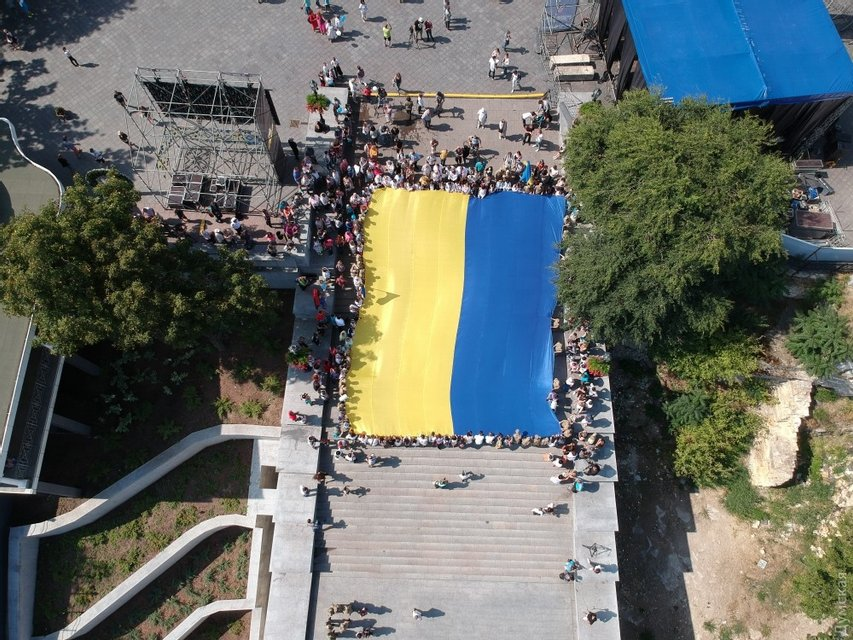 День флага в Одессе - фото 69053