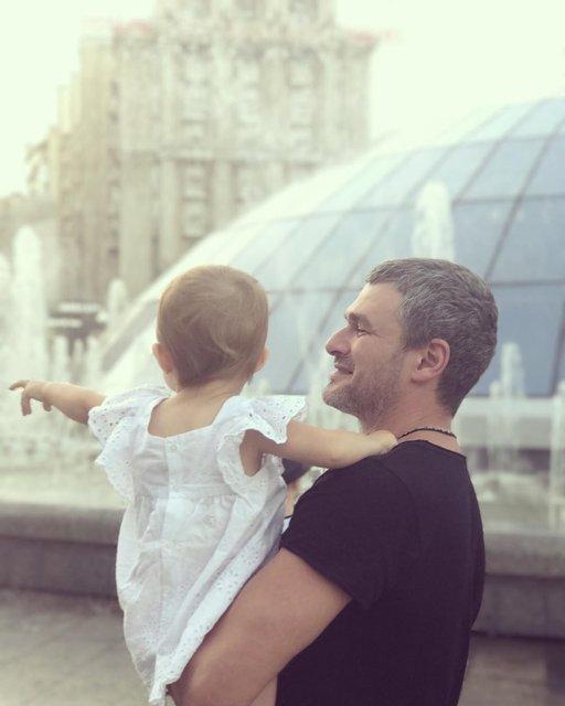 Арсен Мирзоян с дочкой: фото - фото 66117