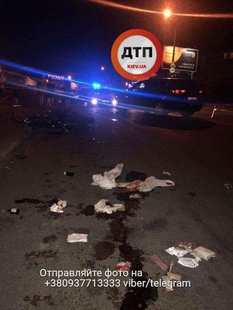 Пьяный следователь сбил мотоциклиста на Позняках - фото 67604