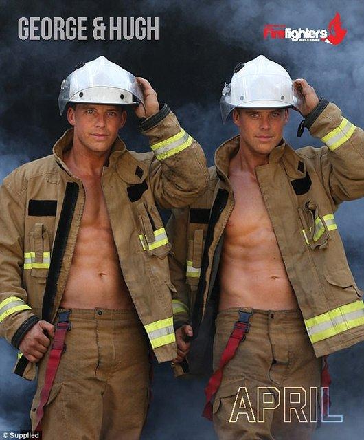 """Сеть """"взорвал"""" календарь с обнаженными пожарными Австралии - фото 63526"""