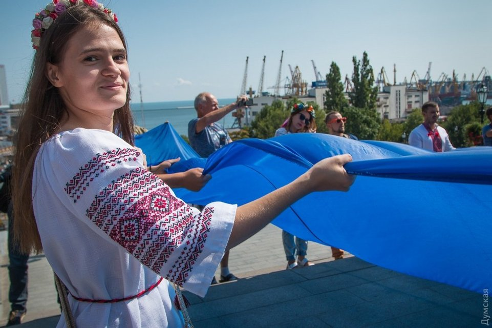 В Одессе стартовал девятый Вышиванковый фестиваль - фото 69055
