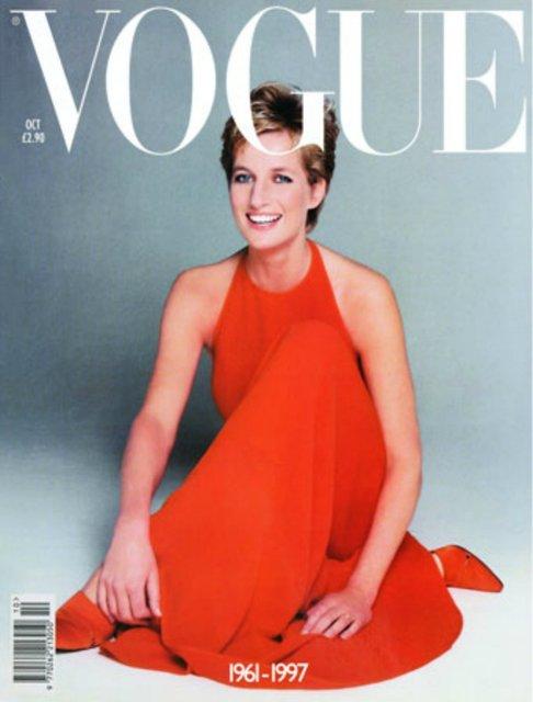 Очаровательная и стильная принцесса Диана на обложках Vogue (фото) - фото 70439