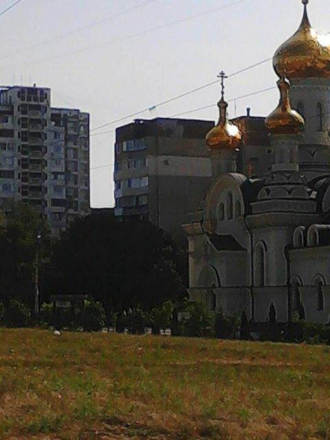 Смелый поступок: В оккупированном Донецке вывесили украинский флаг - фото 69326