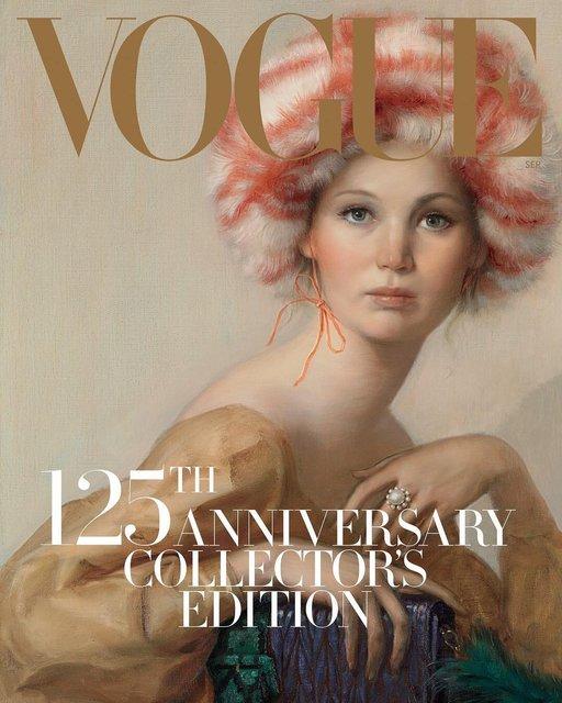 Дженнифер Лоуренс для Vogue - фото 65098