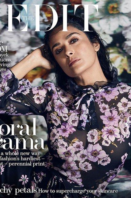 Сальма Хайек покорила красотой в элегантном платье - фото 65667
