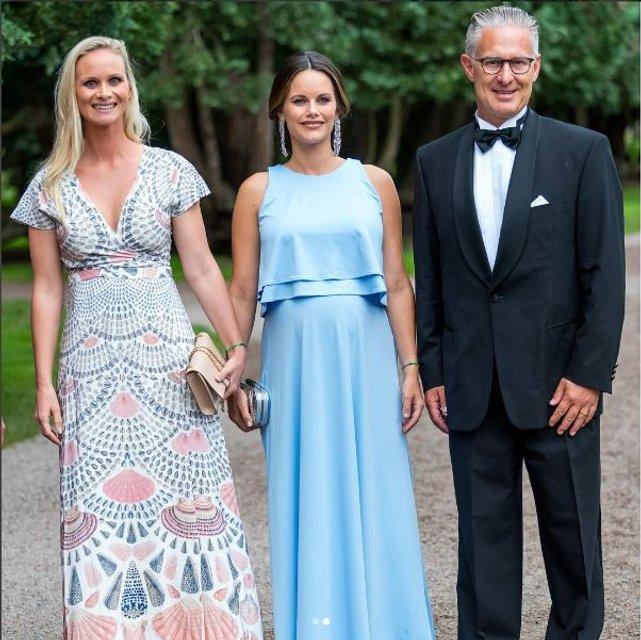 Принцесса Швеции София беременна - фото 63487
