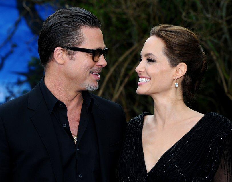 Анджелина Джоли и Брэд Питт: фото - фото 65066
