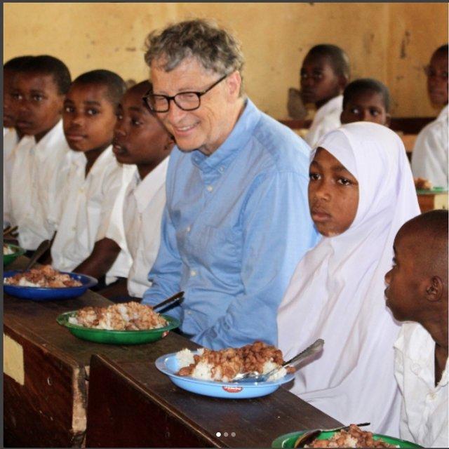 Билл Гейтс создал страницу в Instagram для борьбы с голодом в Африке - фото 66803