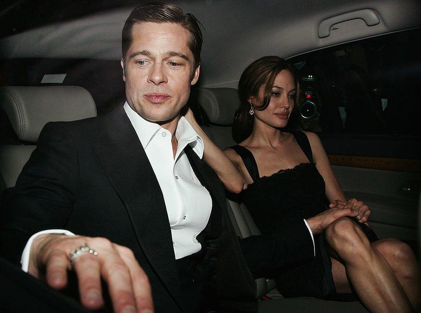 Анджелина Джоли и Брэд Питт: фото - фото 65062