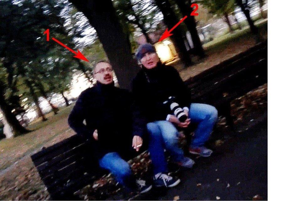 Офицеры- разведчики РФ Эдуард Шишамков (1) и Владимир Попов (2) - фото 69976